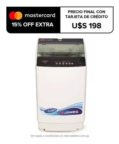 lavarropas automatico carga superior james 6kg wmtj 680 fama