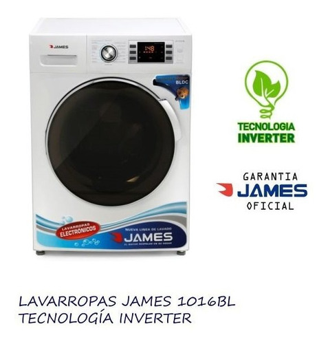 lavarropas james 10kg james