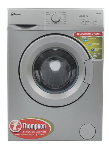 lavarropas james thompson 6 kg gris lr611 s sensacion