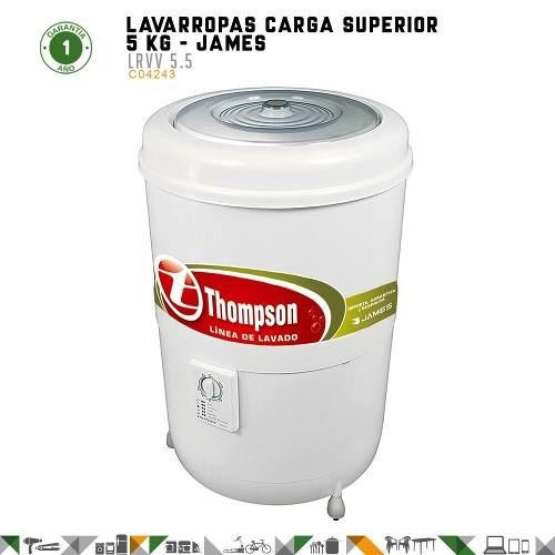 lavarropas nuevos james thompson lrvv 5.5 fama