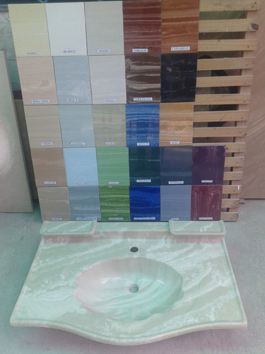 lavatorio de marmolina