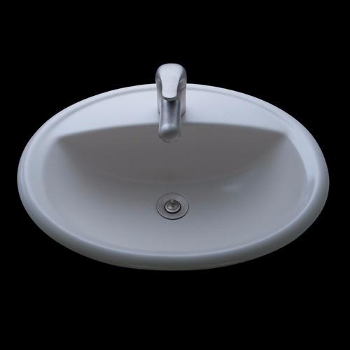 lavatorio de sobreponer olmos® hueso brillo