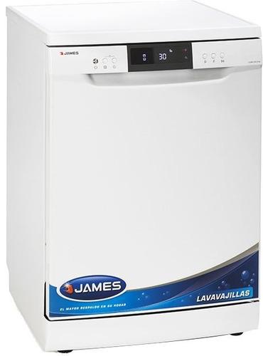 lavavajillas james lv14 blanco 14 cubiertos gtia oficial pcm