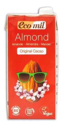 leche de almendras cacao eco mil 1 litro