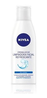leche nivea limpiadora piel normal a mixta