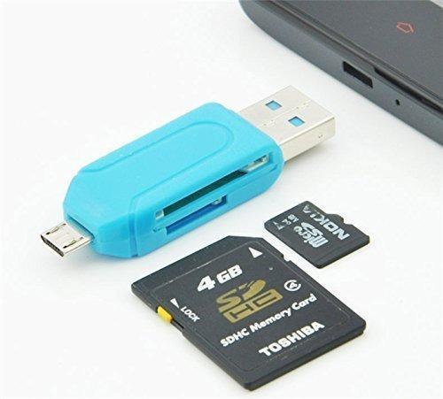 lector adaptador otg celular micro-usb a micro-sd usb 2.0