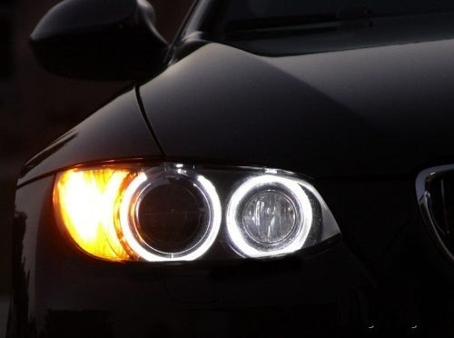 led h8 angel eyes (ojo de angel) para la linea bmw