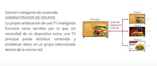 led tv lg smart profesional 43lv640s webos vga  bluetooth