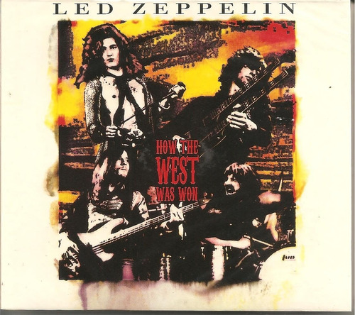 led zeppelin how the west was won - box triplo novo lacrado