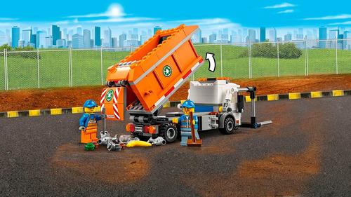 lego city: camión de la basura