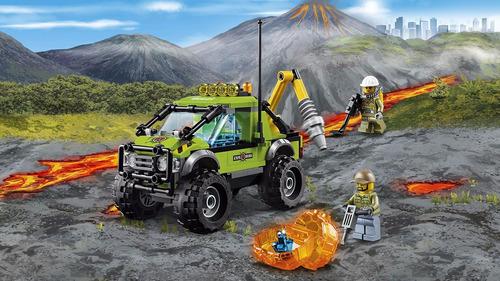 lego city: volcán: camión de exploración + regalo