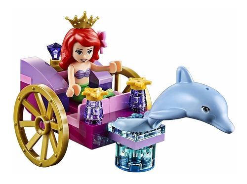 lego juniors carruaje del delfín de la princesa ariel disney