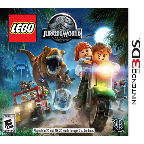 lego jurassic world 3ds ( fisico )