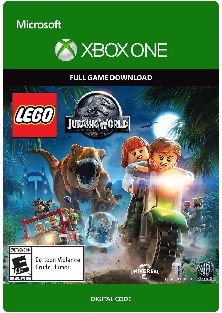 lego jurassic world juego xbox one original cdkey
