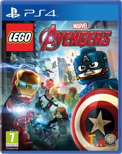 lego marvel avengers - playstation 4 ps4 - físico - xuruguay