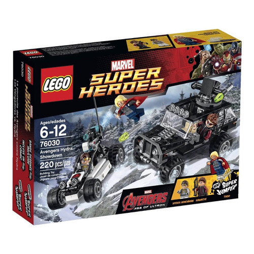 lego marvel super heroes avengers 76030, xuruguay