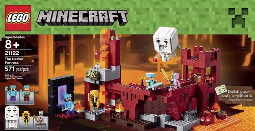lego minecraft: la fortaleza del infierno
