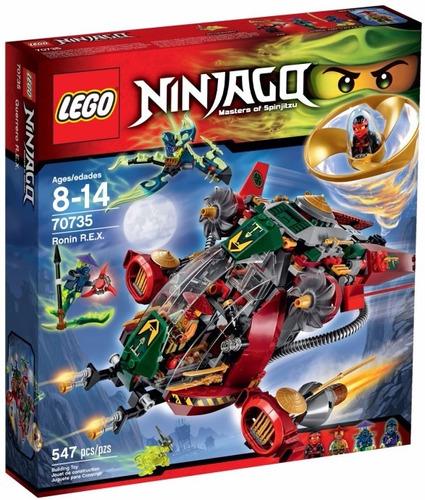lego ninjago: guerrero r.e.x..