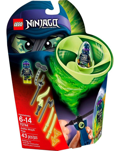 lego ninjago:  trompos ninja: wrayth