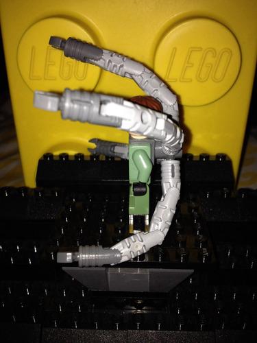 lego original dr. octopus - doc ock del set. 4855
