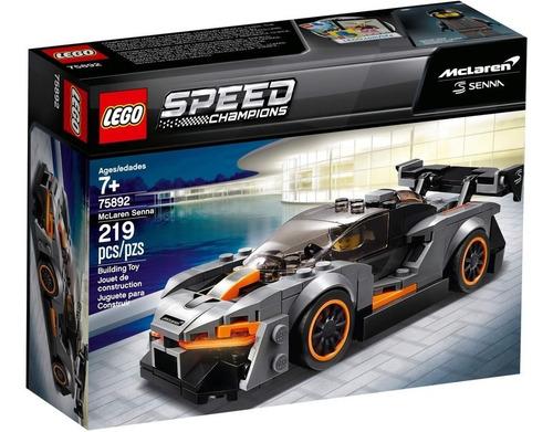 lego speed champions: mclaren senna
