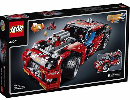 lego technic: camion de carreras + regalo