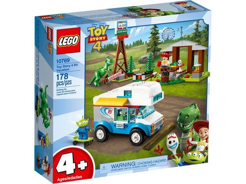 lego toy story 4: toy story 4: vacaciones en autocaravana