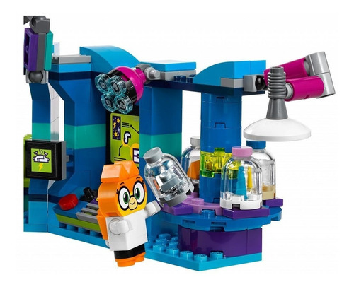 lego unikitty: dr. fox laboratory + regalo