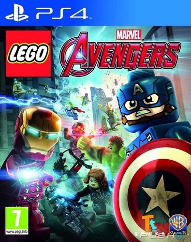 lego vengadores deluxe edition ps4  digital juego completo