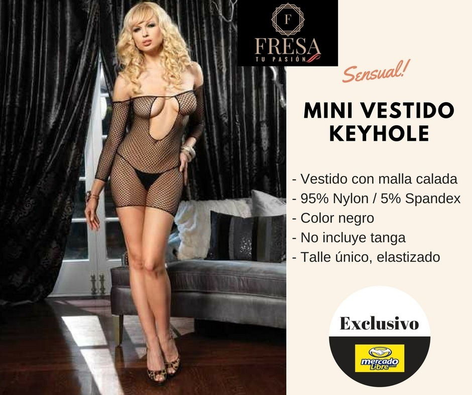 Lenceria Sexy Femenina Fina Xxx Pack Vestido Hot Gel