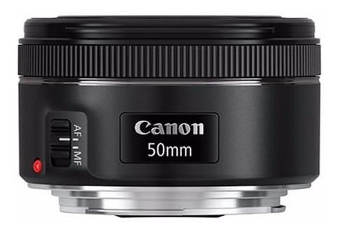 lente canon 50mm  f/1.8 stm 6 meses de gtía fotoplus