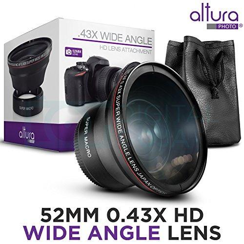 lente gran angular profesion. p/nikon d7100 d7000 d5500 52mm