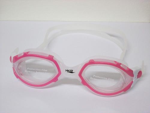 lente natación antiparras hkr s41 legend rosa/ cristal