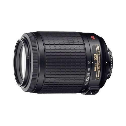 lente nikon 55-200mm af-s vr dx f/4-5.6g nuevo en caja