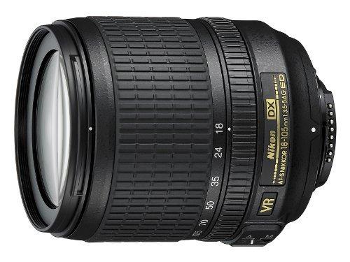 lente nikon af-s dx nikkor 18-105mm f/3.5-5.6g ed