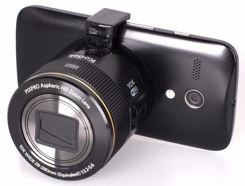 lente smartlens kodak pixpro attac sl10 negro wifi