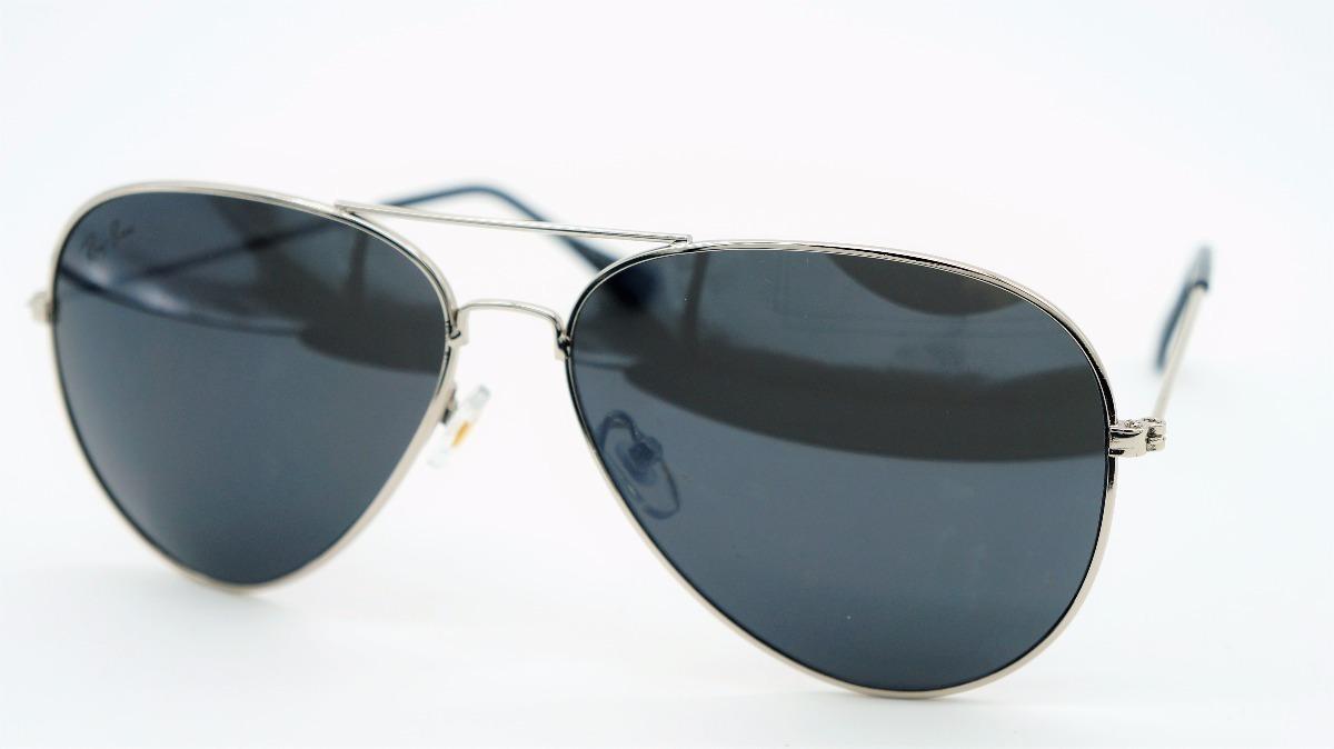 d62256b70 lentes anteojos aviador ray-ban 3025/3026 gris con negro. Cargando zoom.