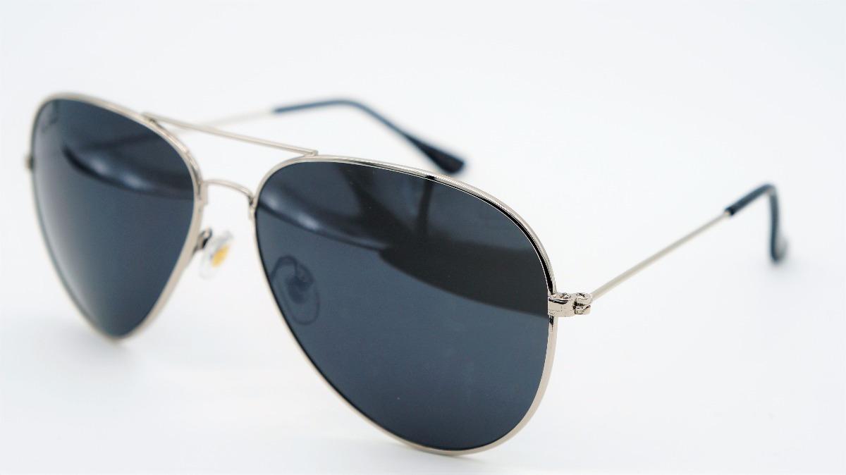 c4355fcfb4225 lentes anteojos aviador ray-ban 3025 3026 gris con negro. Cargando zoom.