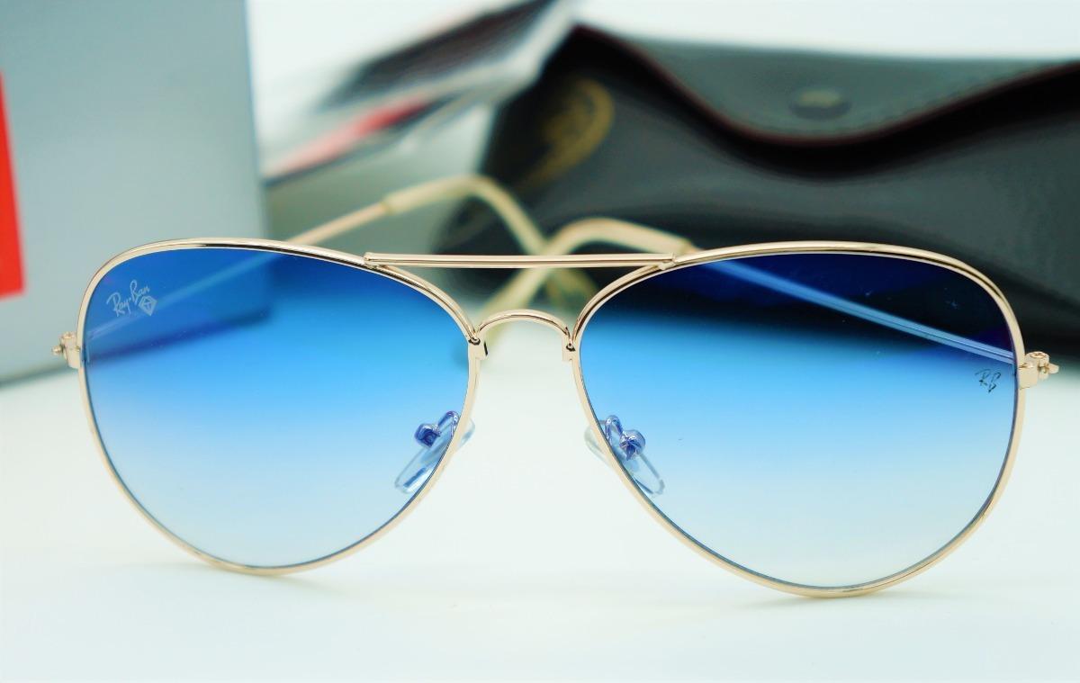 45815bf627f2b lentes anteojos ray-ban aviador 3025 3026 azul. Cargando zoom.