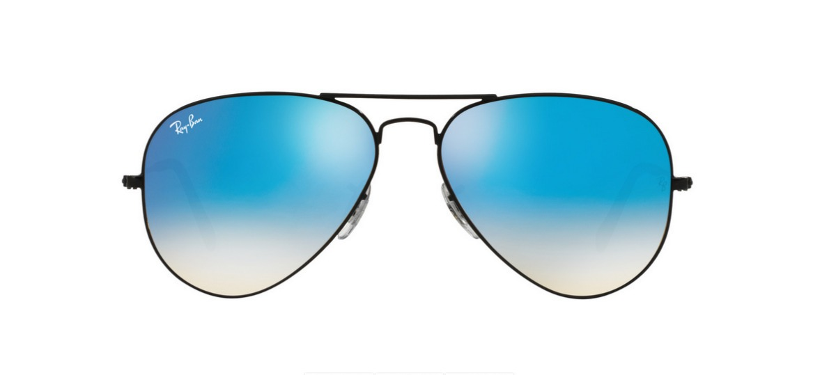 3c56936d6 Lentes Anteojos Ray-ban Aviador 3025/3026 Azul - $ 1.590,00 en ...