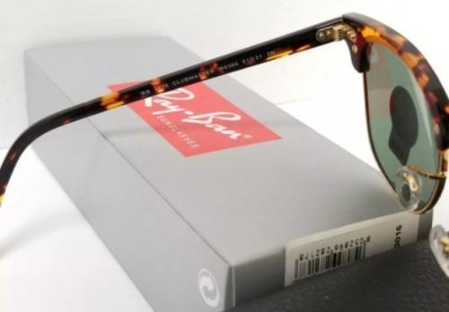 lentes anteojos ray-ban clubmaster rb3016   stock