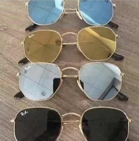 lentes anteojos  ray ban.rb 3548 hexagonal stock