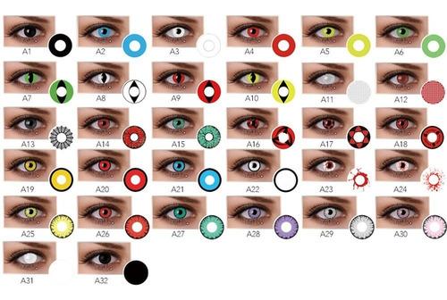 lentes de contacto fantacia halloween.