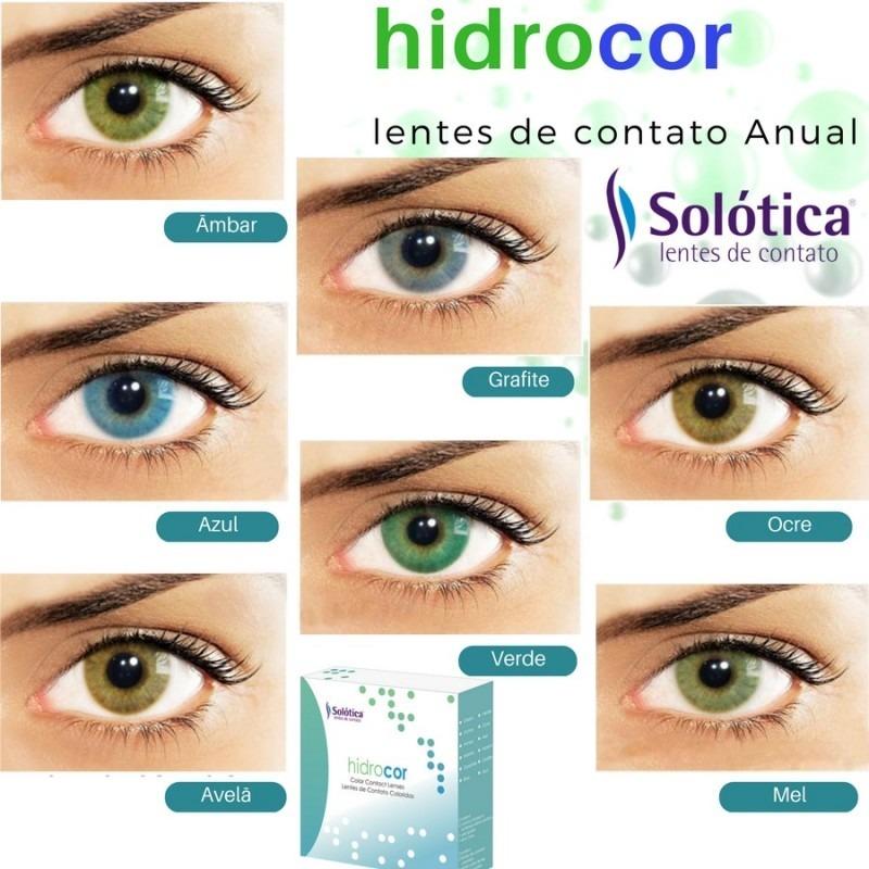 6fde18a4fb34a Lentes De Contacto Solotica Hidrocor Mel Envio Gratis -   2.600,00 ...