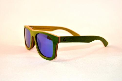 lentes de sol de madera keepwood polarizados - beryl