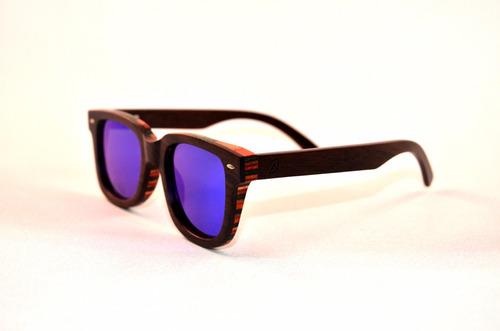 lentes de sol de madera keepwood polarizados - nickel