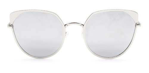 lentes de sol de mujer de metal planos mod. 30026 100% uv