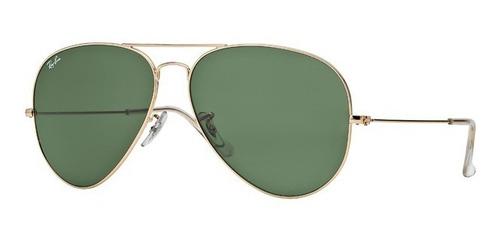 lentes de sol ray-ban aviador mujer - óptica americana