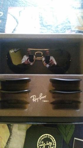 lentes ray ban 3 juegos de cristales