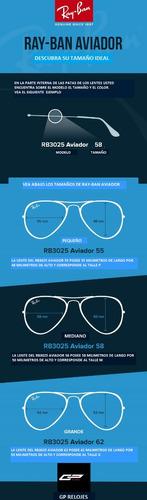 lentes ray-ban aviador degrade stock !!!